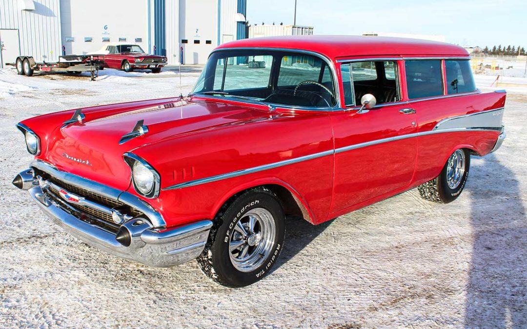 1957 Chevrolet Belair 2 dr Wagon