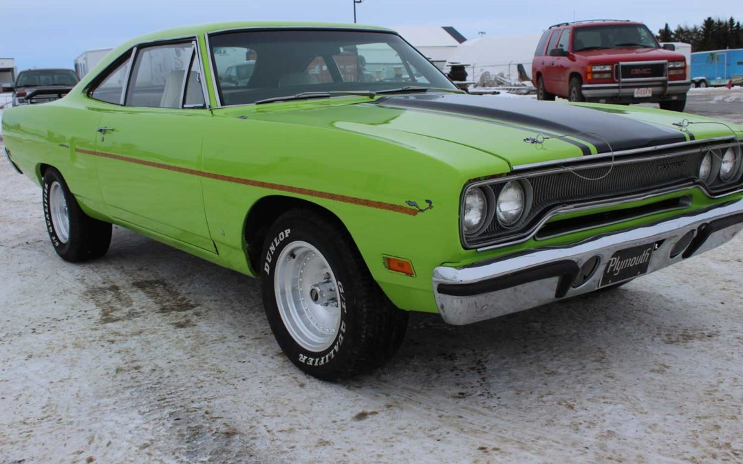 1970 Plymouth Road Runner to Superbird Conversion