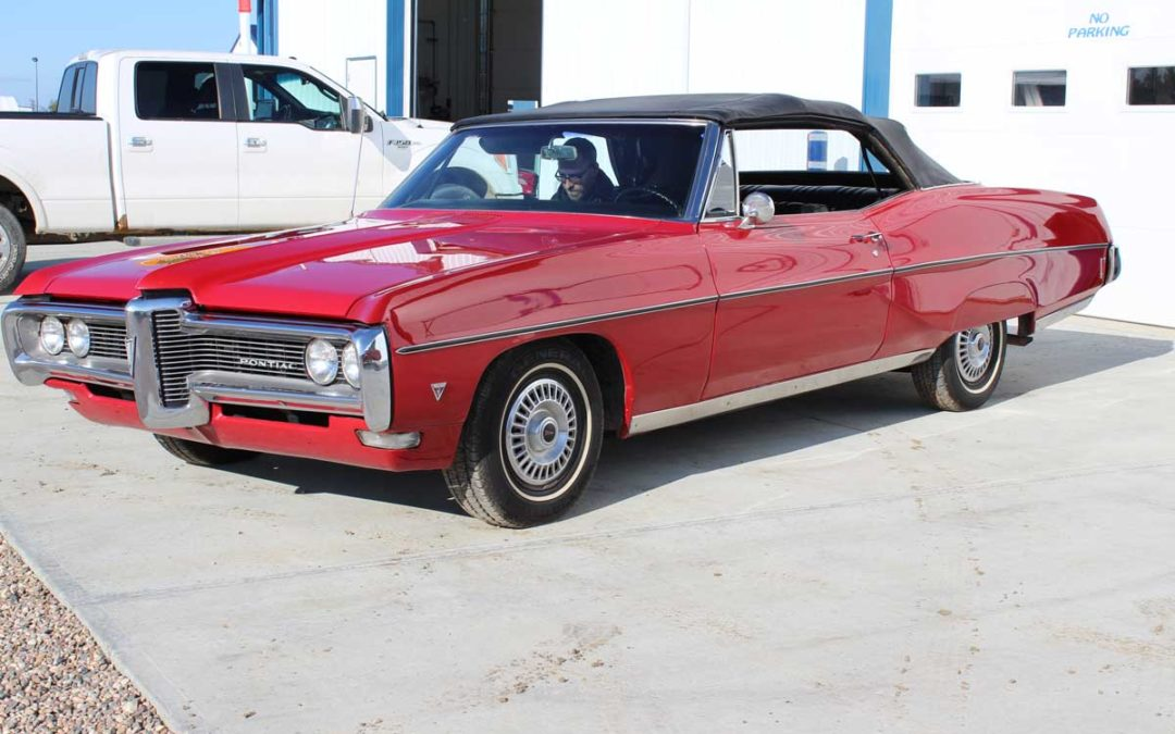 1968 Pontiac Parisienne Convertible